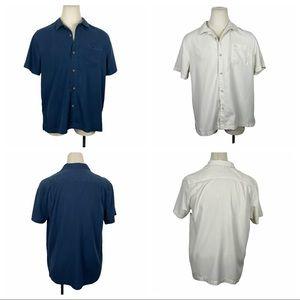 2 Tommy Bahama Island Shores Short Sleeve XL